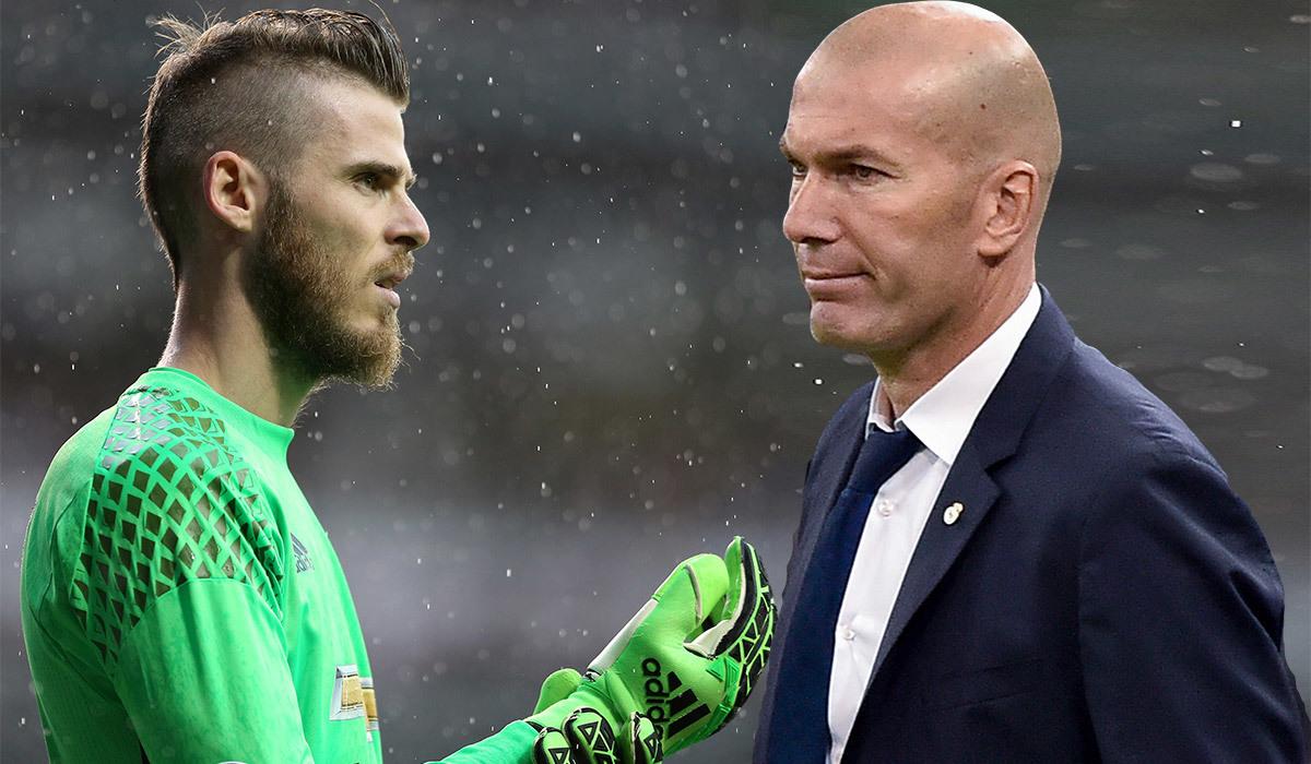 Real tống khứ Courtois, Zidane chọn De Gea