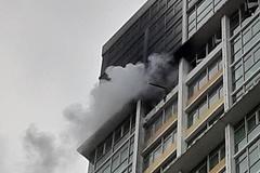 Cháy căn hộ tầng 18 The Vista An Phú, hô hoán tìm đường thoát thân