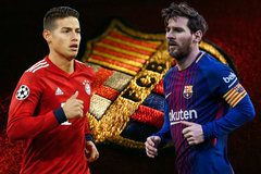 James Rodriguez chê MU, sang Barca vì Messi