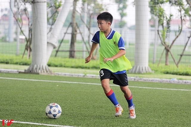 Vietnamese players, coach to attend Madrid's Football for Friendship Academy