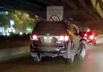 Lái xe biển xanh gây tai nạn trên đường Nguyễn Xiển trình diện công an