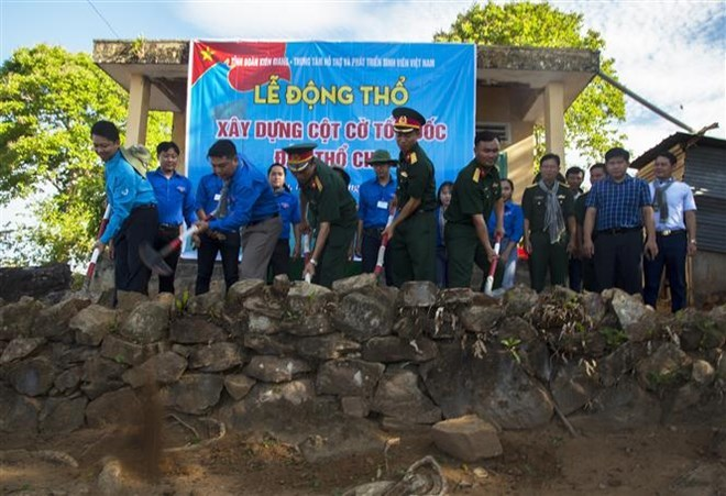 Flag tower to be erected on Tho Chu Island