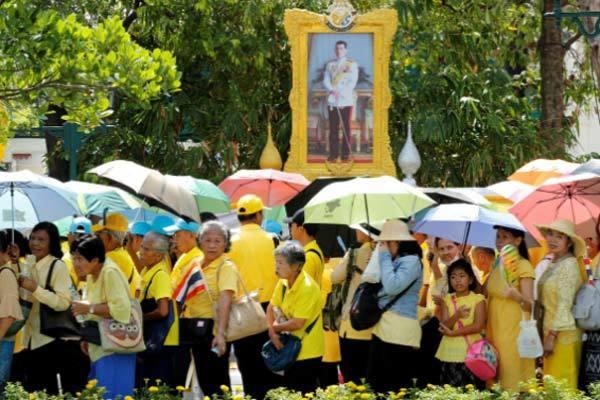 Vua Rama X,Vua Maha Vajiralongkorn,lễ đăng cơ Vua Thái Lan,Vua Thái Lan