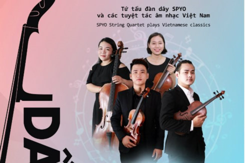 String quartet to hold Vietnam classical music concert