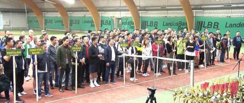 Berlin tennis tournament held for Vietnamese expats