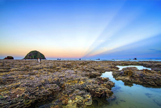 The stunning coral features of Hon Yen island