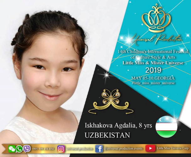 Vietnamese kid set to compete for Little Miss Universe 2019 crown
