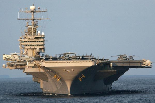 Mỹ điều nhóm tàu sân bay tấn công tới Trung Đông 'dằn mặt' Iran