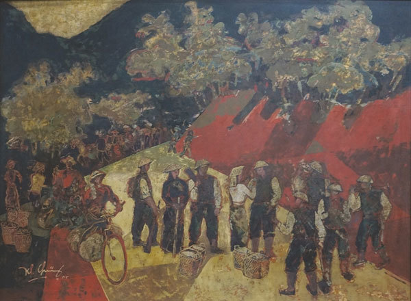 National museum displays Dien Bien Phu artworks