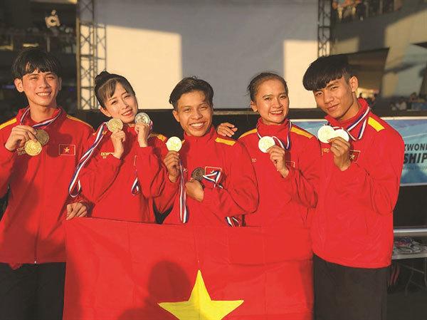 Vietnam win 72 medals at ASEAN Taekwondo Championship