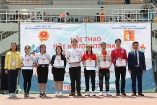Sports exchange promotes solidarity among OVs in RoK