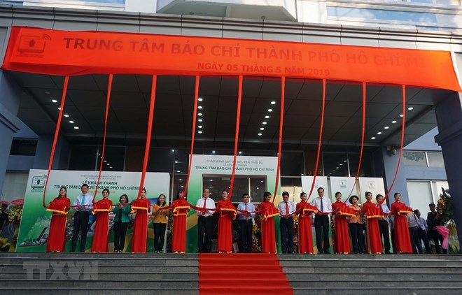 Ho Chi Minh City press centre put into operation