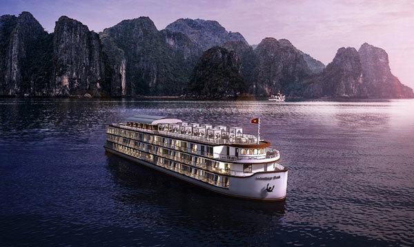 Cruising through World Heritage Ha Long - Lan Ha Bay with Indochine Cruise