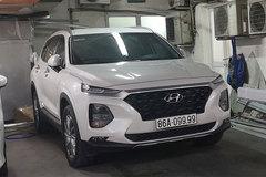 """Đeo biển siêu """"khủng"""", loạt xe Hyundai SantaFe tăng giá gấp 3"""