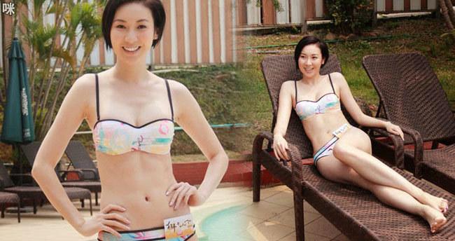 Mỹ nhân gợi cảm Hong Kong mặc bikini đón tuổi mới ở Phú Quốc