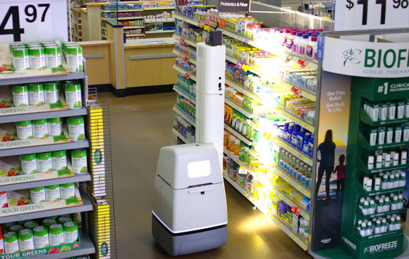 Robot,AI,Trí tuệ nhân tạo,Walmart