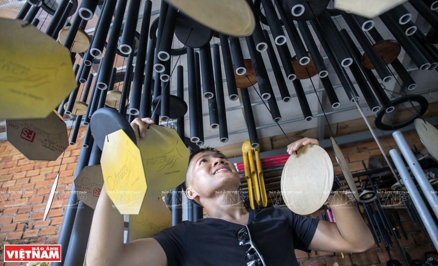 Meditation music wind chimes