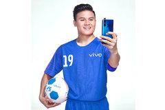 'Quả bóng vàng' Quang Hải thành đại sứ thương hiệu Vivo V15