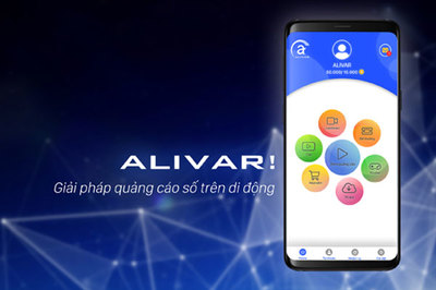 Ứng dụng quảng cáo kiếm tiền Alivar thêm nhiều tính năng mới