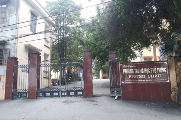 Bộ Giáo dục yêu cầu Phú Thọ làm rõ thực hư vụ 'nam sinh làm 4 bạn có thai'