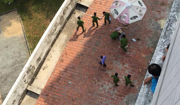 Đà Nẵng: Người đàn ông nghi rơi từ tầng 8 bệnh viện tử vong
