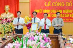 Bí thư huyện làm Trưởng Ban Nội chính Tỉnh ủy Hà Tĩnh