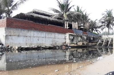 Đà Nẵng phạt gần 300 triệu công ty xả thải bẩn ra môi trường