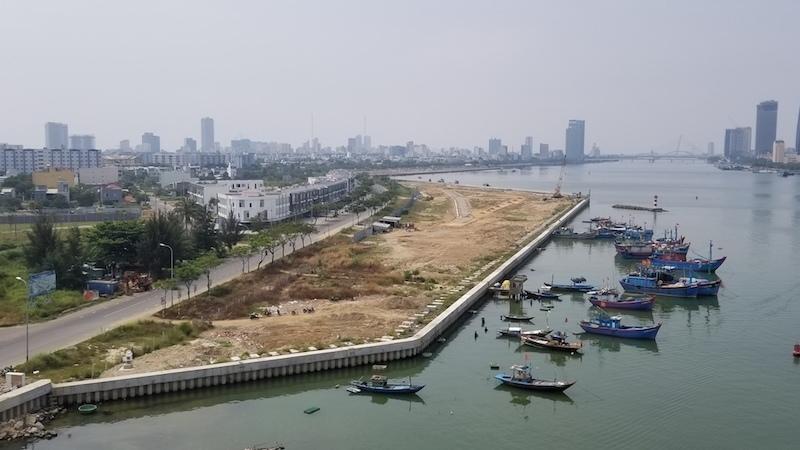 Đà Nẵng,sông Hàn,dự án lấn sông Hàn