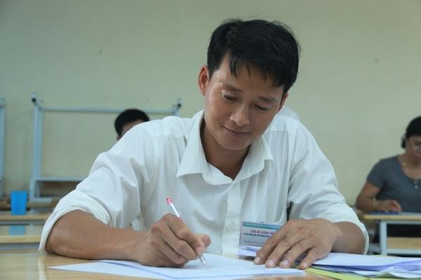 Thi THPT quốc gia 2019: Giáo viên chấm tự luận tại Nghệ An sẽ ăn ở tập trung