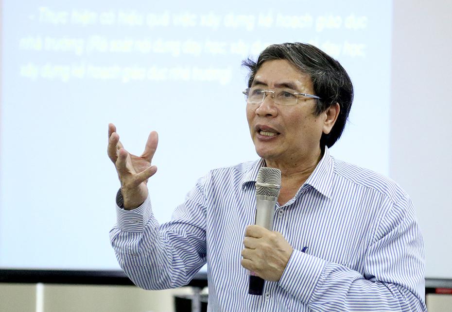 100 giảng viên được tập huấn chương trình giáo dục mới