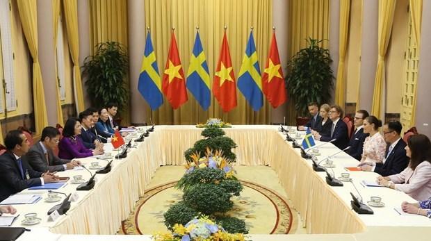 Thụy Điển coi trọng phát triển quan hệ hợp tác với Việt Nam