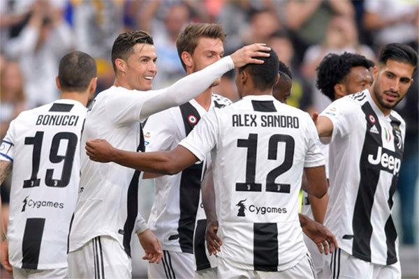 Juventus vs Fiorentina,Ronaldo