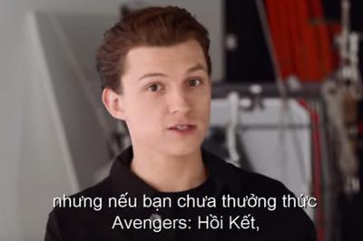 Tom Holland cảnh báo người xem trước trailer 'Spider-man: Far From Home'