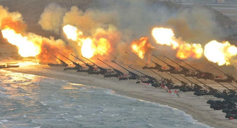 Triều Tiên,pháo Triều Tiên,vũ khí Triều Tiên