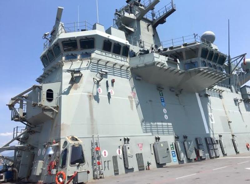 Australia,tàu hải quân,tàu hộ vệ tên lửa,tàu đổ bộ,cảng Cam Ranh