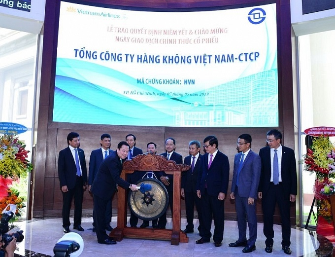 Vietnam Airlines announces first trading session on HSX