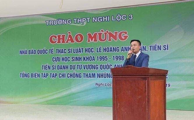 'Nhà báo quốc tế' Lê Hoàng Anh Tuấn phủ nhận chiếm đoạt tài sản