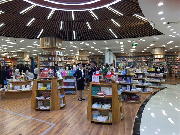 Fahasa sets up dedicated Korean area in HCM City store