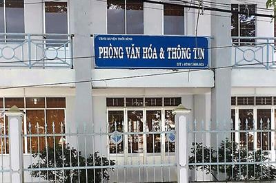 Kỷ luật trưởng phòng 'vượt quyền' chủ tịch huyện tuyển dụng nhiều viên chức