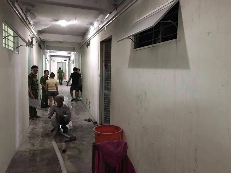 Thanh niên đổ xăng đốt nhà người dân ở chung cư Đà Nẵng
