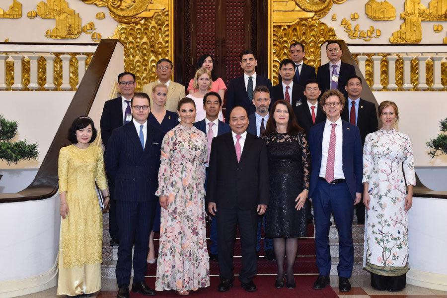 Thủ tướng,Thủ tướng Nguyễn Xuân Phúc,Nguyễn Xuân Phúc,Thụy Điển