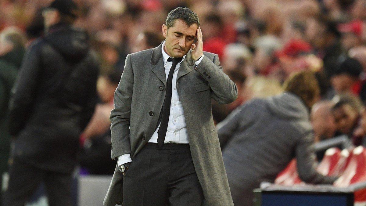 HLV Valverde: 'Barca tự thua, tôi không lời nào bào chữa'