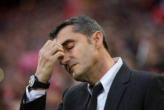 """HLV Valverde: """"Barca tự thua, tôi không lời nào bào chữa"""""""