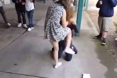 Clip 'nữ sinh dạy cho kẻ bắt nạt một bài học' khiến dân mạng thán phục
