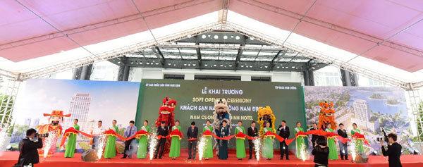 Khai trương khách sạn 4sao quốc tế đầu tiên ở Nam Định