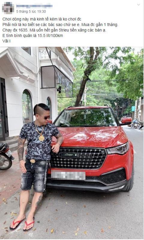 Ô tô Trung Quốc uống xăng khiến khách Việt hoảng hốt