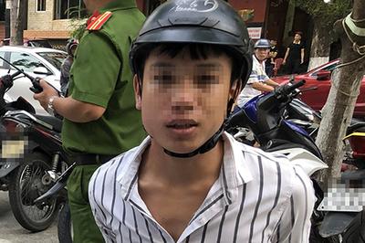 9X lạng lách trốn công an Đà Nẵng, tông trúng người phụ nữ