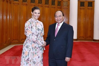 VN Government leader hosts Swedish Crown Princess