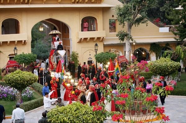 Ấn Độ,cung điện hoàng gia