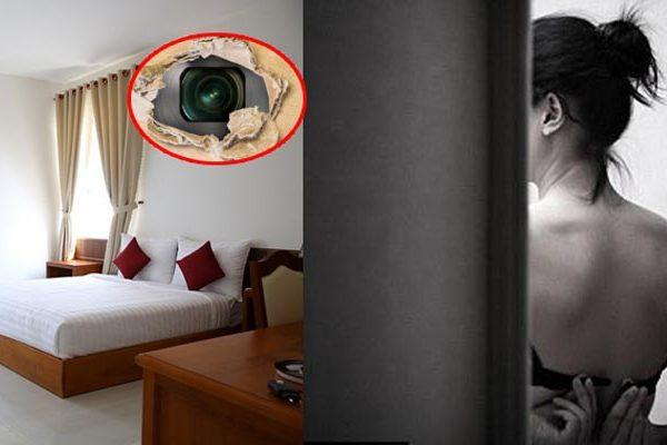 Cặp đôi chia sẻ bí quyết phát hiện máy quay lén khắp nơi trong nhà nghỉ